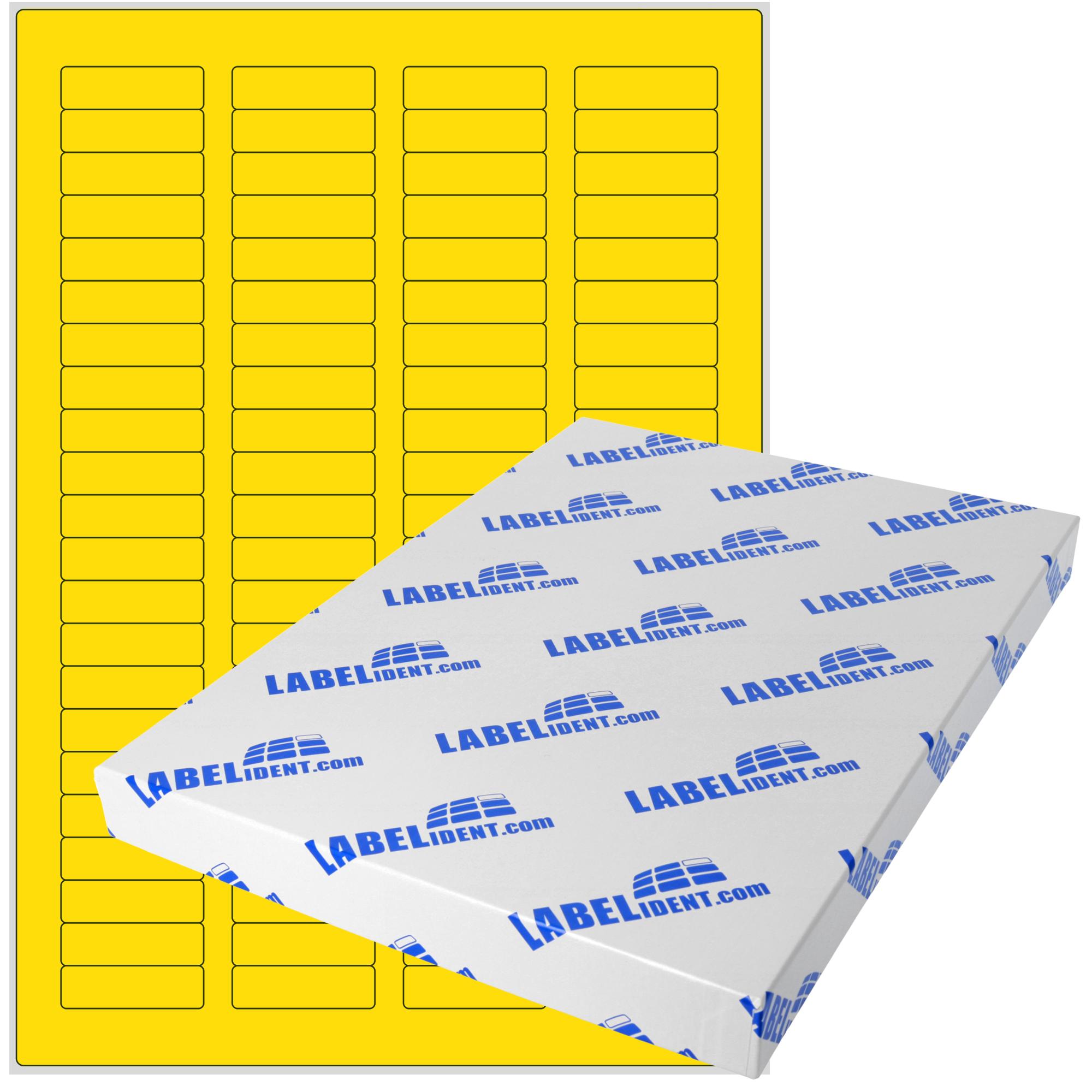 PET-Folie selbstklebend silber matt 8 Etiketten A4 Bogen 97 x 68 mm