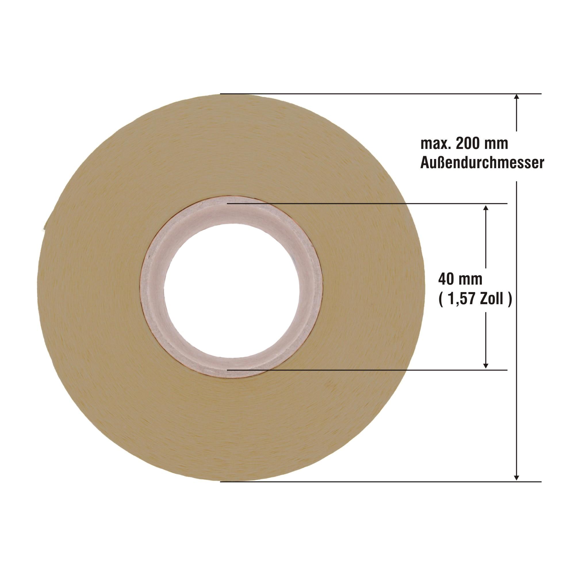 "Zebra ZT XI 2740 Etiketten Papier 3/"" Kern f 51 x 51 mm unbes. ZM"